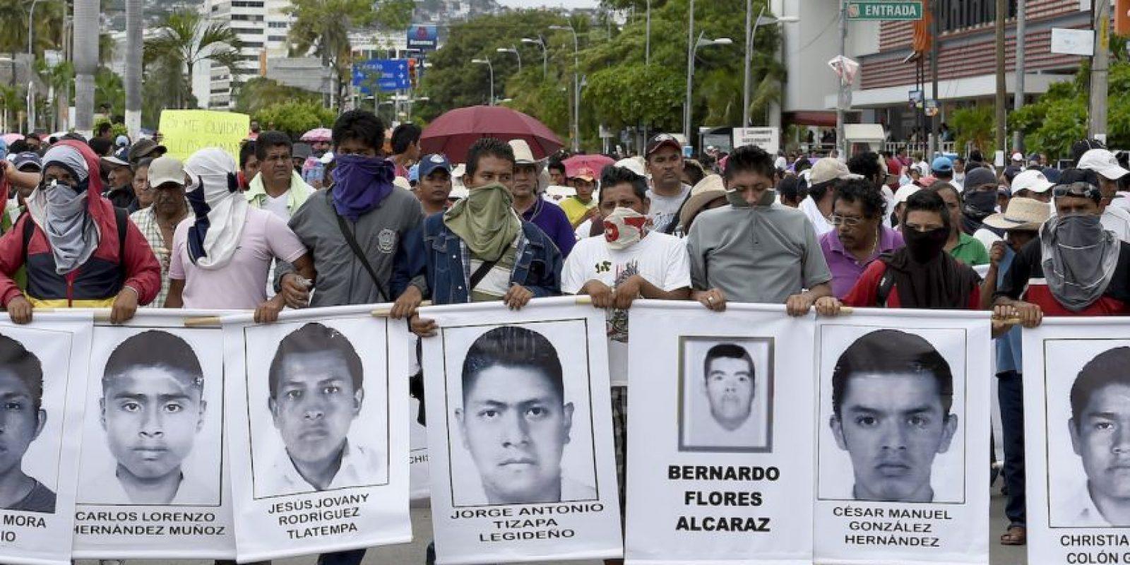 Esto ha causado que revelen otros problemas del estado de Guerrero, como la extrema pobreza, desigualdad y corrupción. Foto:AFP