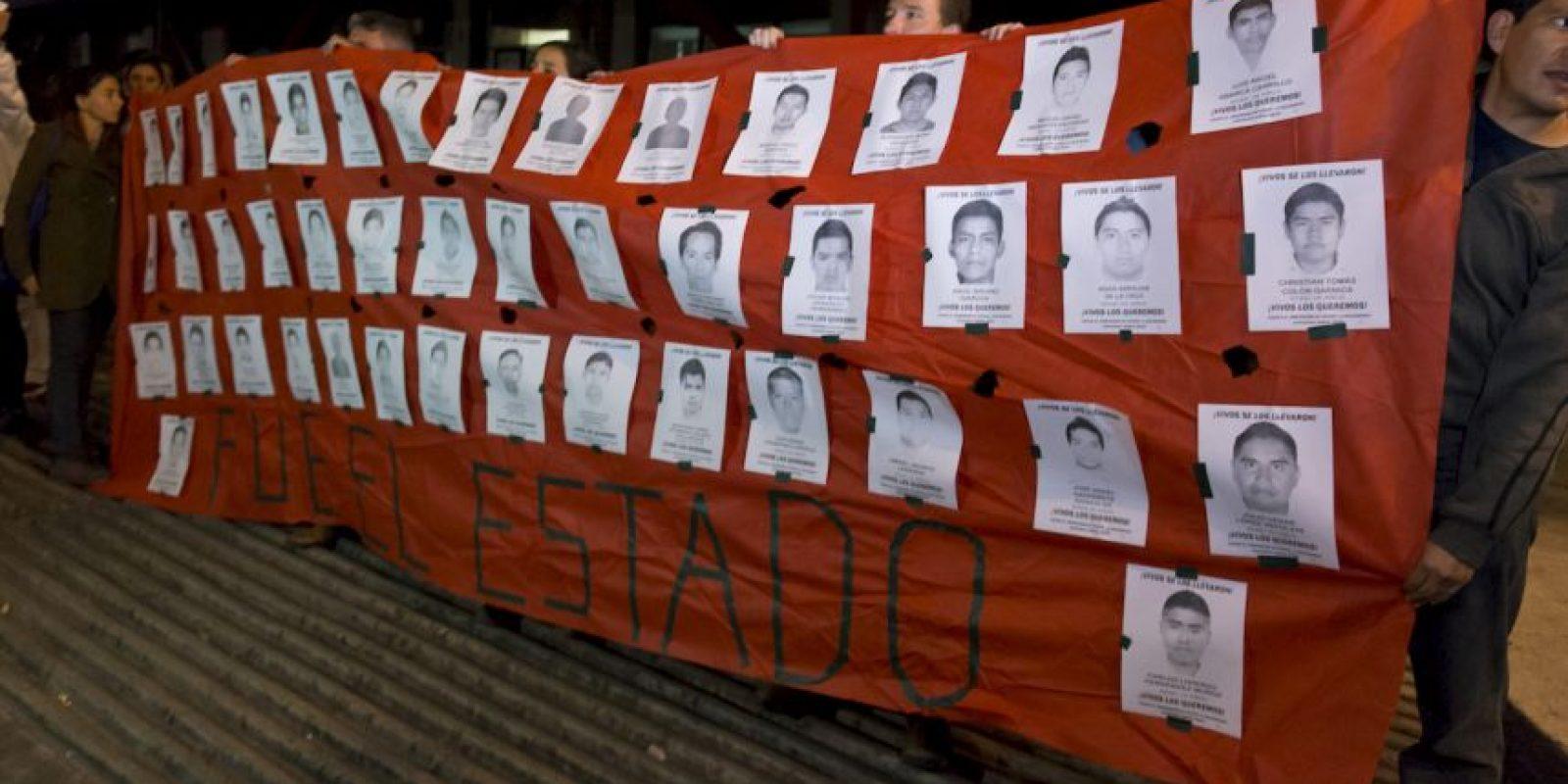 Según el diario español El País, un gran número de personas vive precariamente en el estado de Guerrero. Foto:AFP