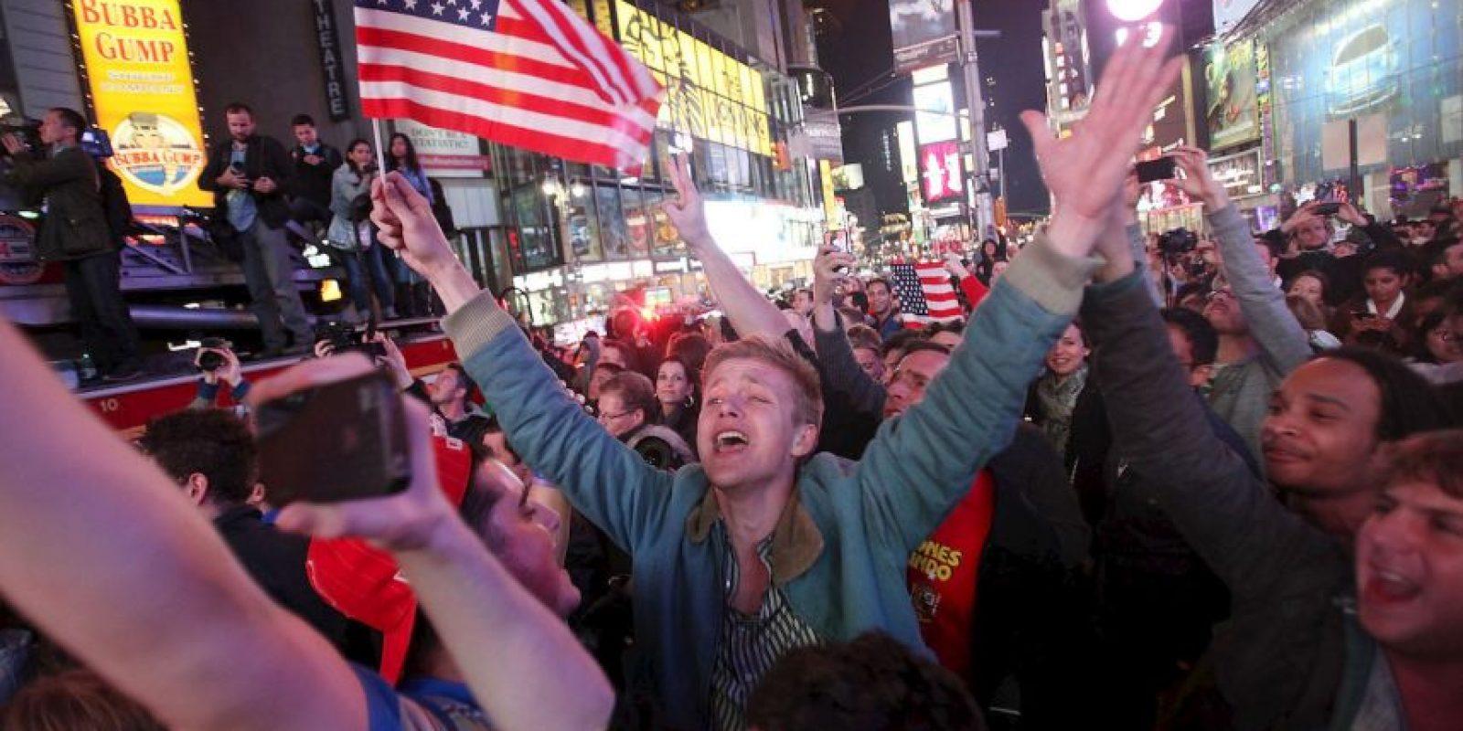 Así reaccionaron en Nueva York. Foto:Getty