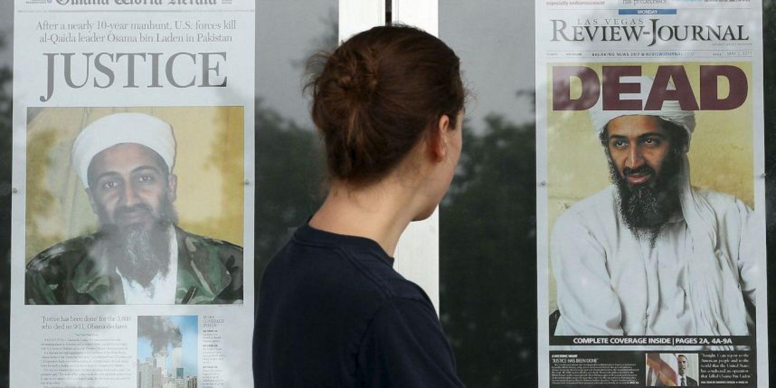 La muerte de Osama Bin Laden se anunció el 1 de mayo de 2011. Foto:Getty