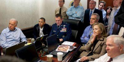 Foto del día en que asesinaron a Osama Bin Laden. Foto:Getty
