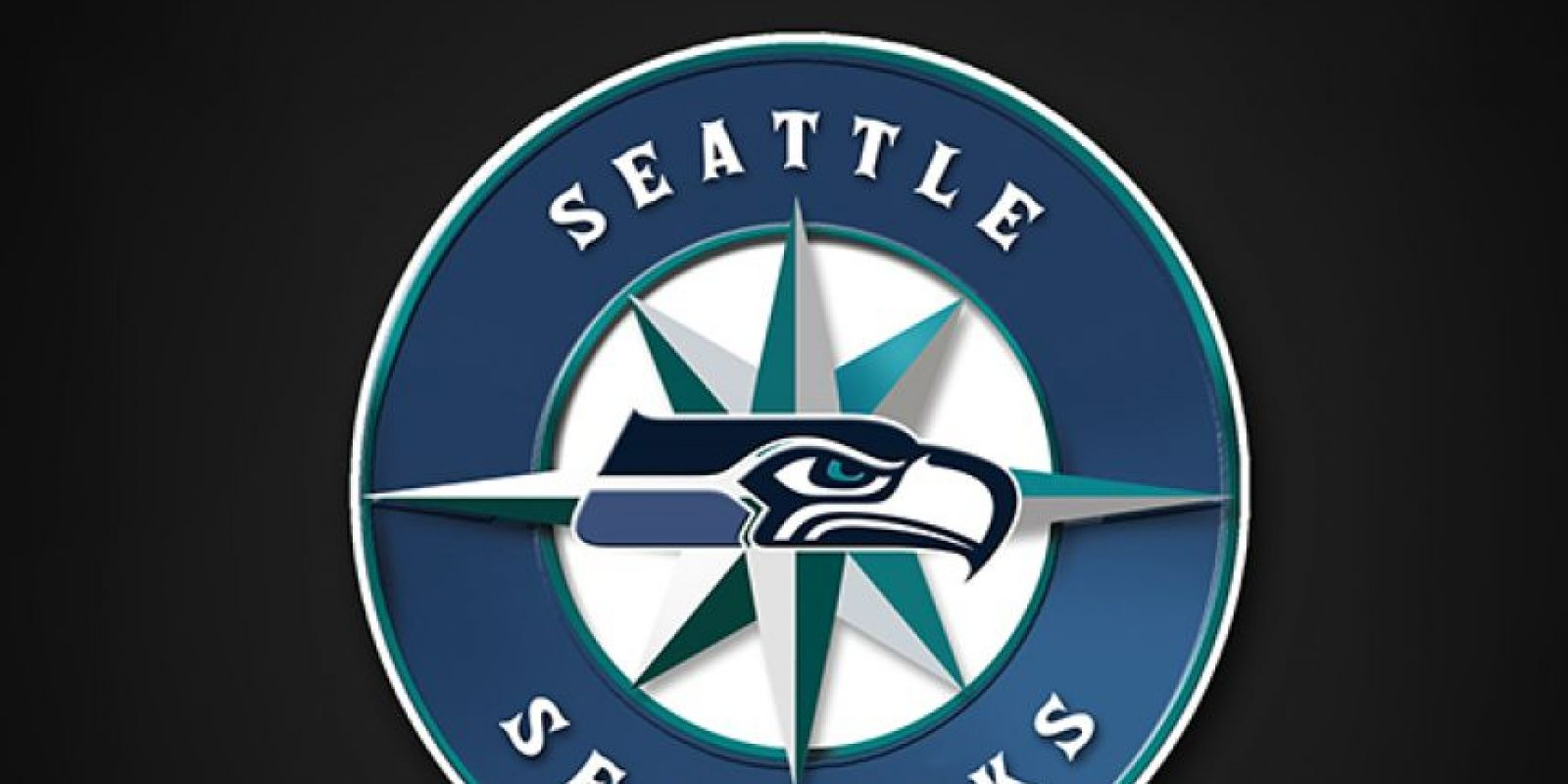 Seattle Seahawks y Seattle Mariners Foto: DailySnark