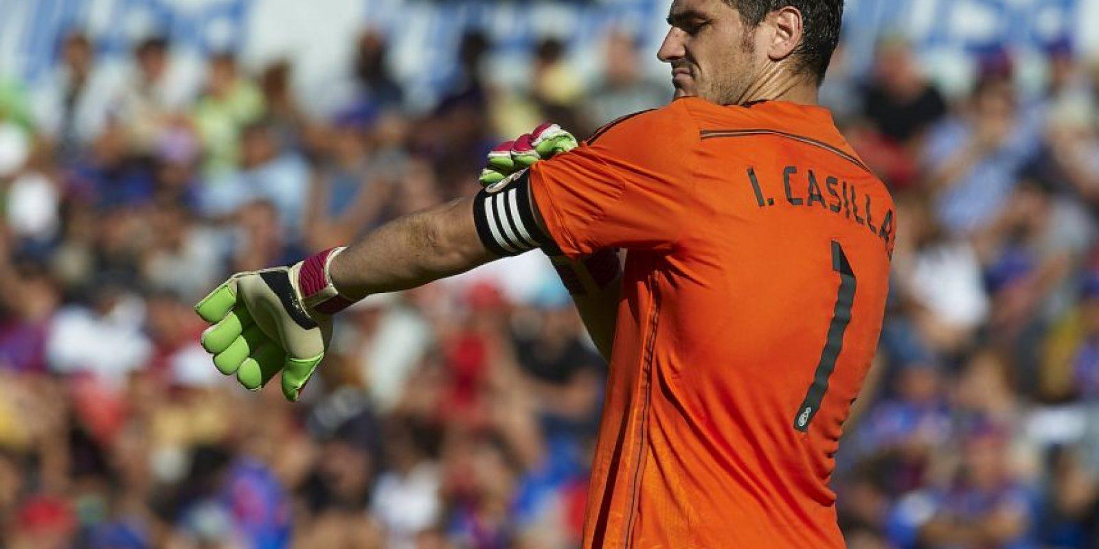 Iker Casillas estará en el arco ibérico Foto:Getty