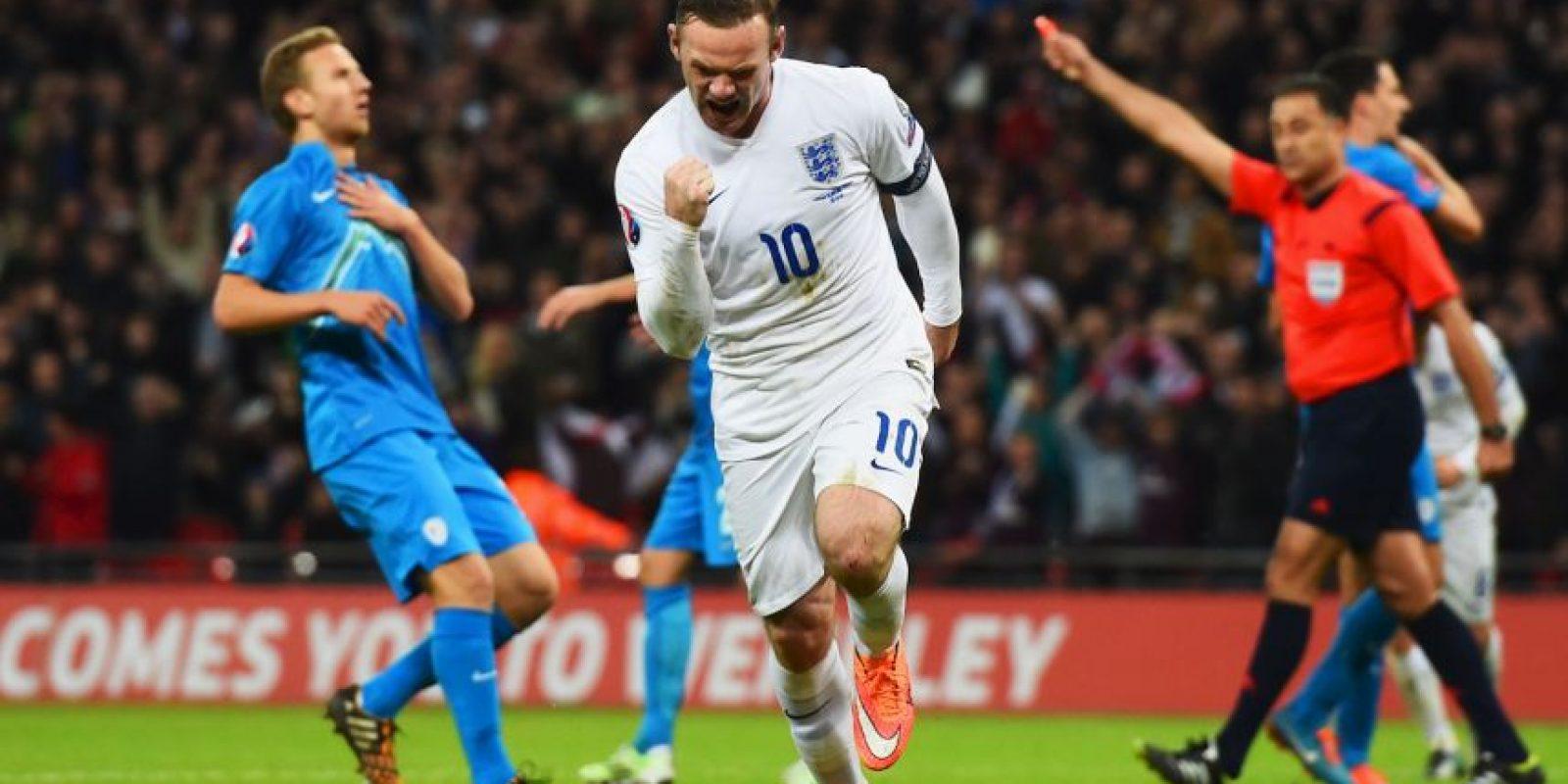 Suma 44 goles con la Selección y está a cinco del récord de Charlton Foto:Getty