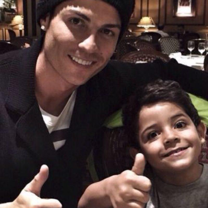 Cristiano Jr tiene cuatro años Foto:Instagram: @cristiano