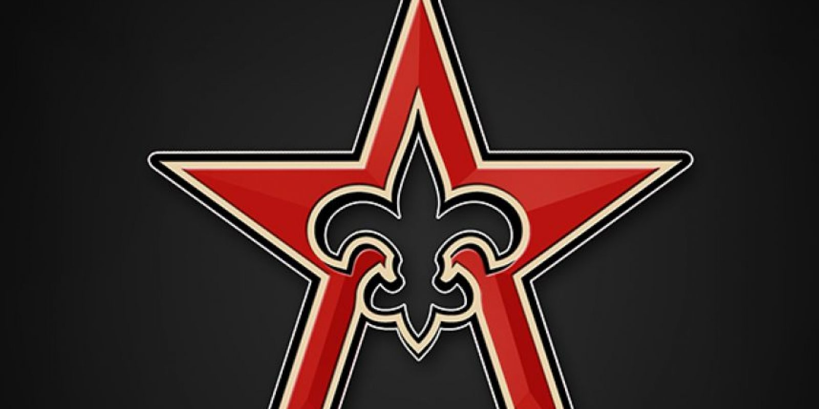 New Orleans Saints y Houston Astros Foto: DailySnark