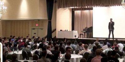 Sus seminarios generaron indignación. Foto:Twitter