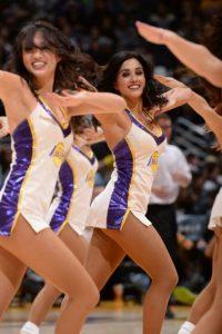 Uno de los principales atractivos de los juegos de la NBA, son las animadoras. Foto:AFP