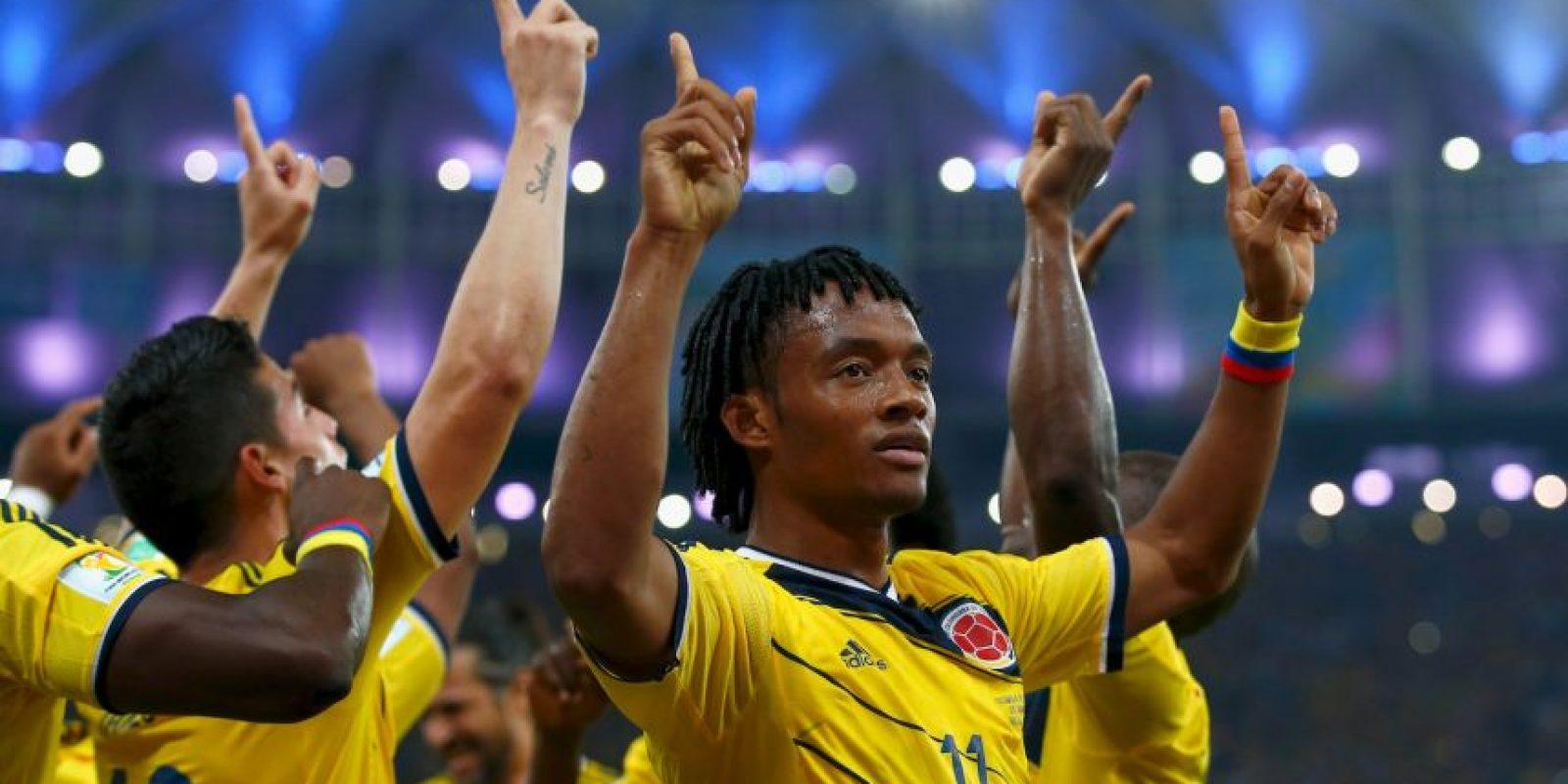 Brilló en el Mundial de Brasil 2014 con la Selección cafetalera Foto:Getty