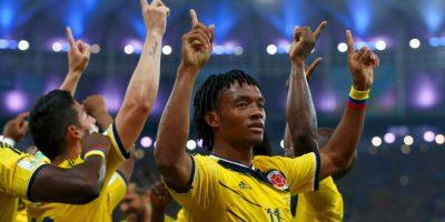 El colombiano Juan Cuadrado conoció a su ídolo del fútbol