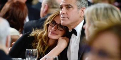 Julia Roberts y Geogre Clooney son inseparables, por lo menos en el cine