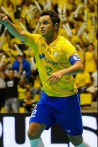Actualmente juega en el Kirin de Brasil Foto:Twitter: @Falcao12oficial