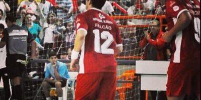 Fue considerado el Mejor Jugador del Mundo de Futsal en 2004, 2006, 2011 y 2012 Foto:Twitter: @Falcao12oficial