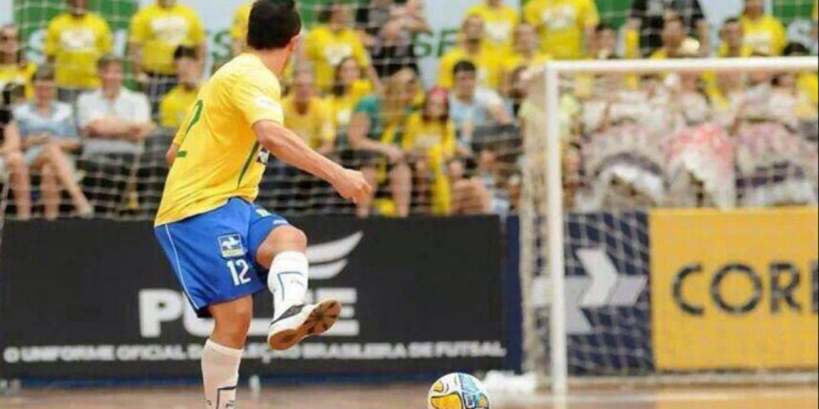 El brasileño es considerado uno de los mejores futbolistas de futsal Foto:Twitter: @Falcao12oficial