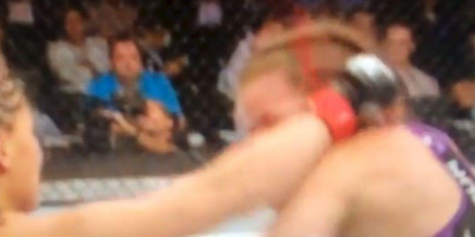 La pelea terminó a su favor por knockout técnico Foto:Instagram: @jessicaevileye