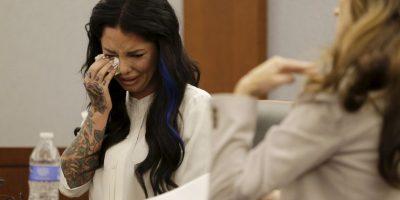 Ella no pudo contener las lágrimas Foto:AP