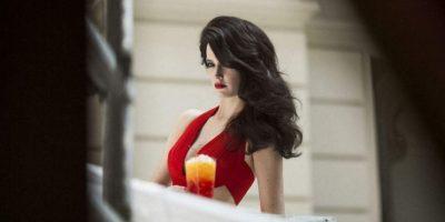 """La actriz hizo su primer desnudo en la película """"The Dreamers"""" Foto:Campari"""