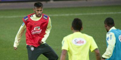 Neymar y Silva hacen las paces