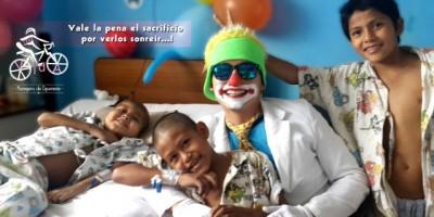 Un pedalazo para apoyar a los niños con cáncer