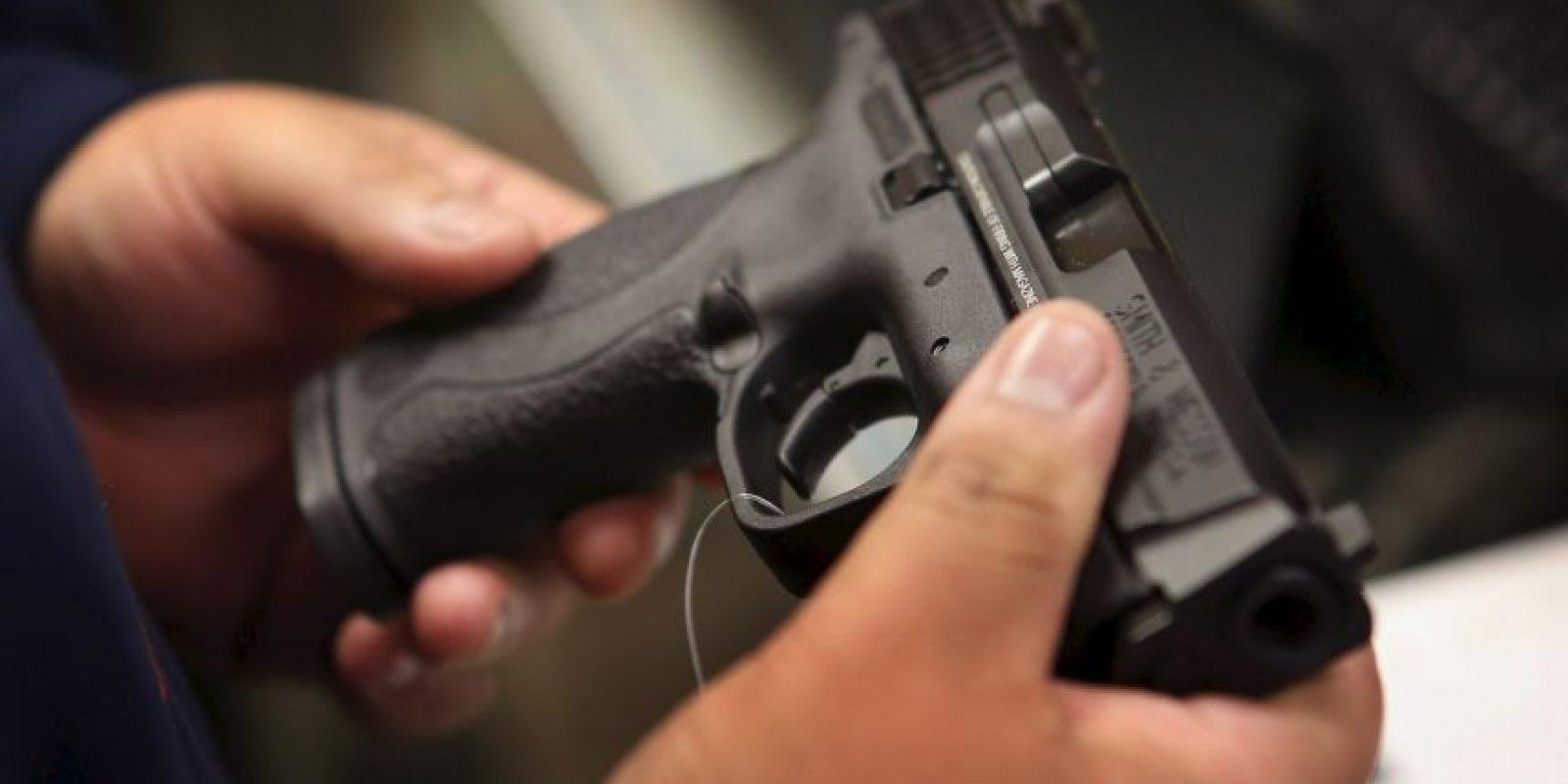 3. Hasta 2012, el 34.4% de los hogares estadounidenses tenían un arma en su poder. Foto:Getty Images