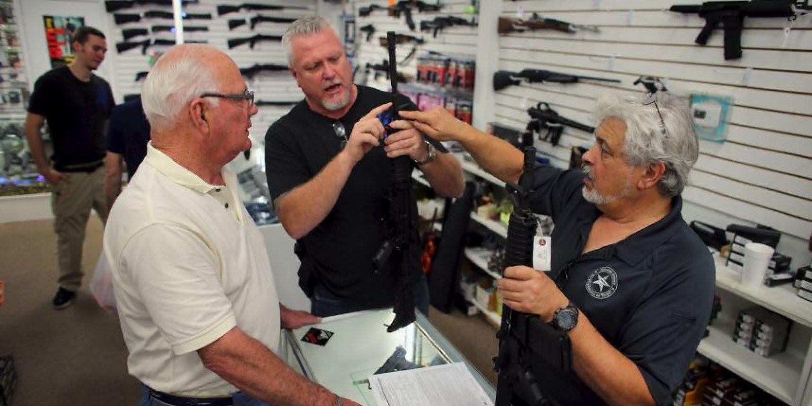 9. De acuerdo con los fabricantes, en 2010 se exportaron 241 mil 977 armas. Foto:Getty Images