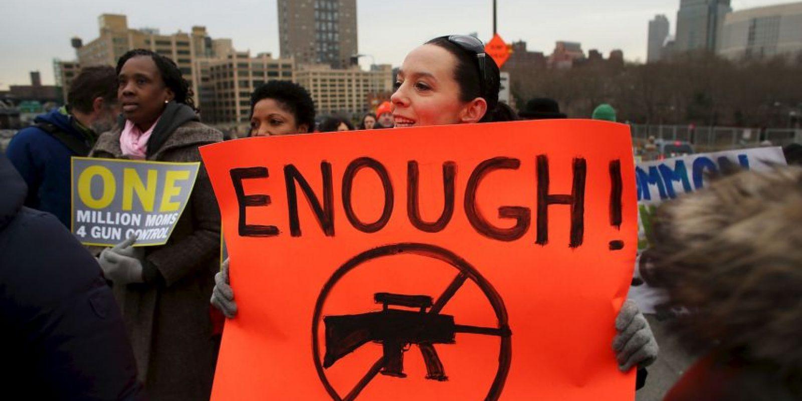 6. Datos oficiales estiman en un millón 150 mil las armas de fuego en manos de la policía Foto:Getty Images