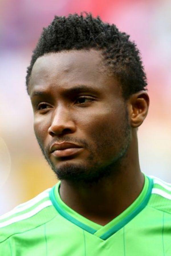 John Obi Mikel, futbolista nigeriano del Chelsea. Foto:Getty Images