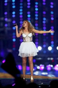 Kylie Minogue mide 1.52 metros Foto: Getty Images