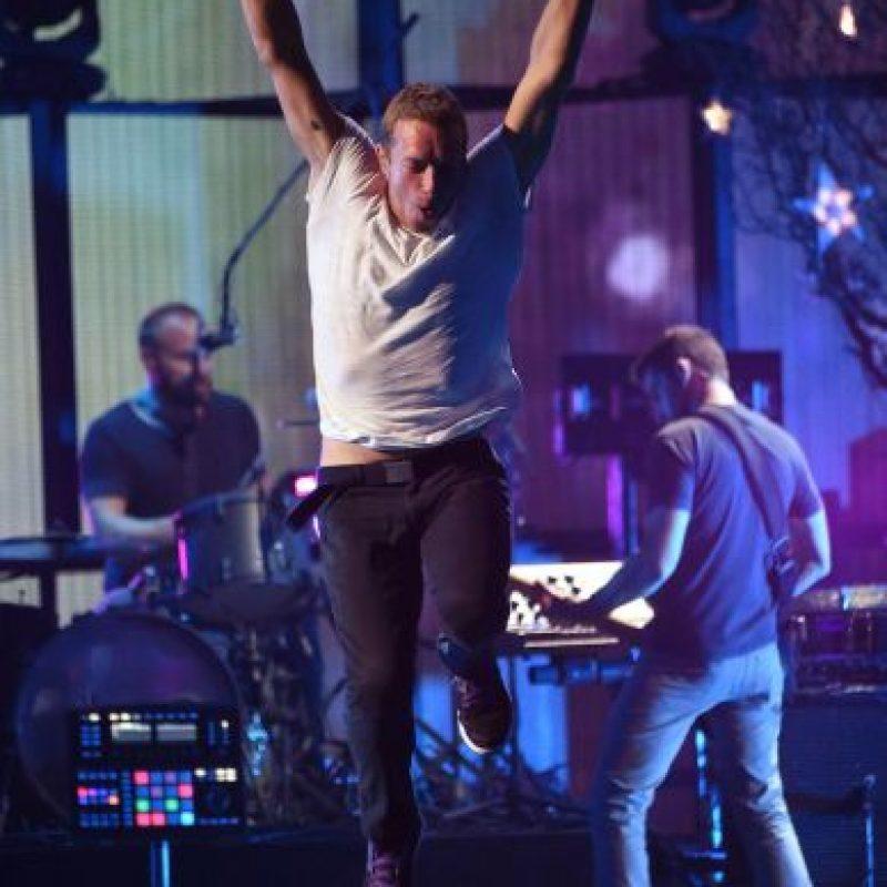 Chris Martin, de Coldplay Foto:Getty