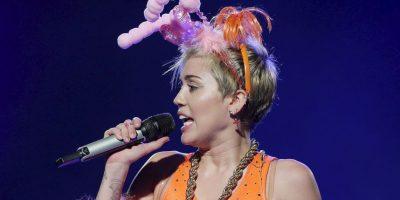 """En febrero de 2008, la gira se convirtió en una película/concierto en 3D titulada """"Hannah Montana & Miley Cyrus: Best of Both Worlds Concert"""" Foto:Getty Images"""