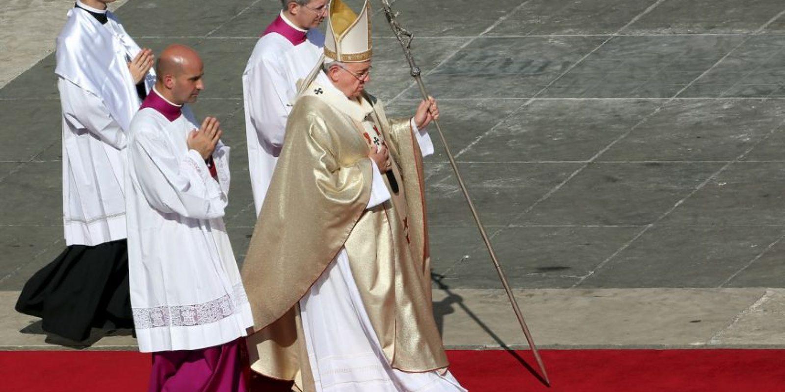 Su misión es limpiar la mala imagen de la Iglesia. Foto:Getty Images
