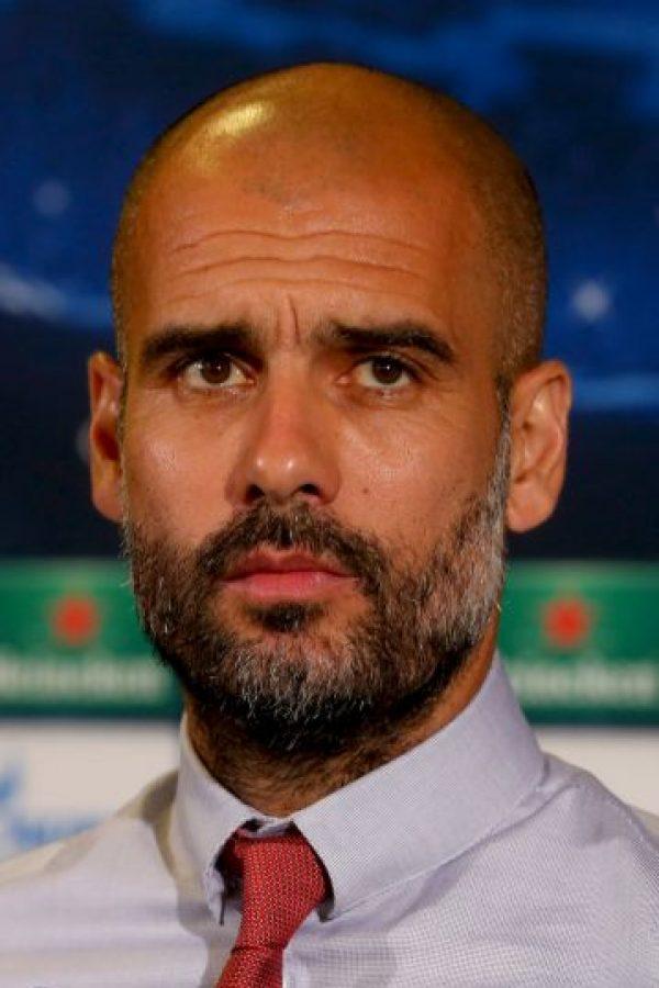 Pep Guardiola, entrenador español del Bayern Múnich. Foto:Getty Images