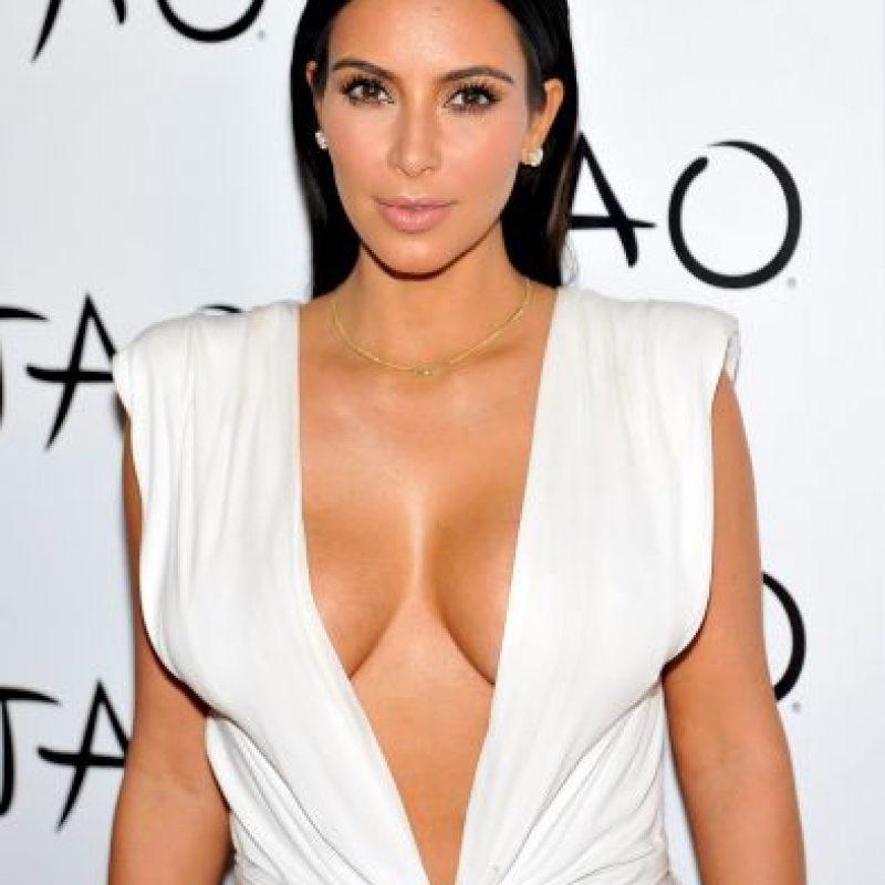 "Su nombre completo es Kimberly ""Kim"" Noel Kardashian Foto:Getty Images"