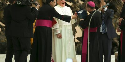 Sus colaboradores más cercanos lo definen como un Papa amable. Foto:Getty Images