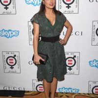 Salma Hayek mide 1.57 metros Foto: Getty Images
