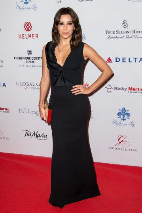 Eva Longoria mide 1.57 metros Foto: Getty Images