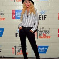 Christina Aguilera mide 1.55 metros Foto: Getty Images