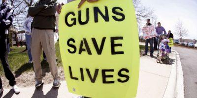 2. El número estimado de pistolas en posesión de civiles es de 114 millones Foto:Getty Images