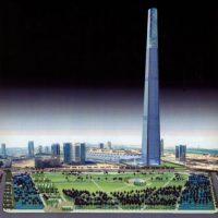 Se proyectaba que midiera 509 metros de altura. Foto:Skyscraper City