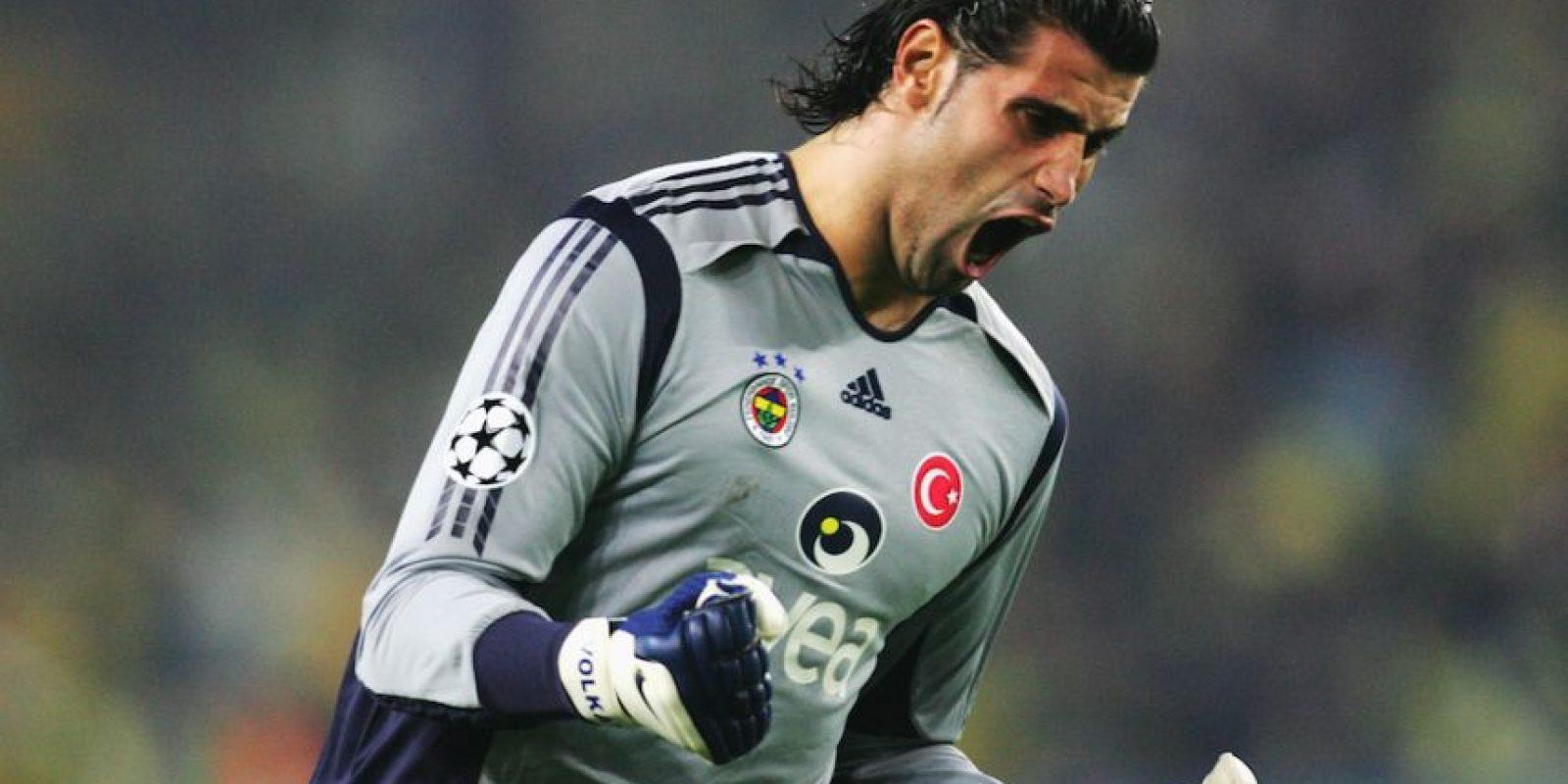 Volkan participó en la Euro de Austria y Suiza 2008. Foto:Getty Images
