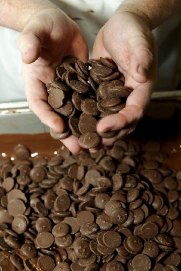 5. Contiene ácido esteárico, el cual es una grasa saludable presente en la manteca de cacao Foto:Getty Images