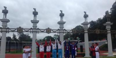 Diéguez y Hernández consiguen el oro en el pentatlón moderno