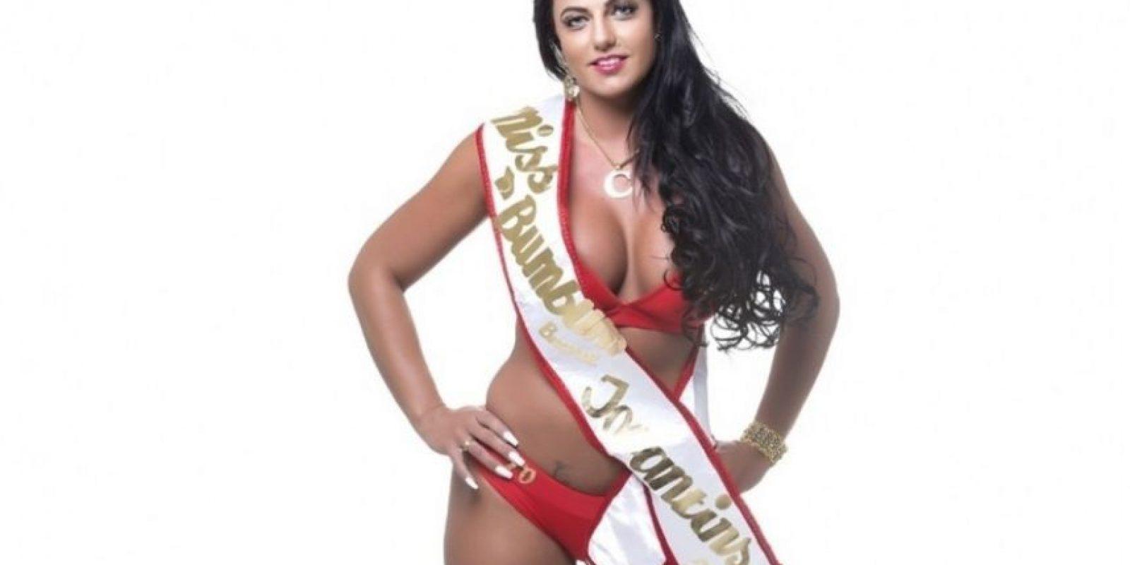 Es acusada de hackear el sistema para obtener más votos Foto:Missbumbumbrasil.com.br