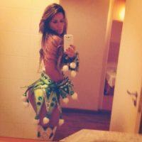 Docio no asistía a los eventos de Miss Bum Bum Foto:Facebook: Michelle Docio