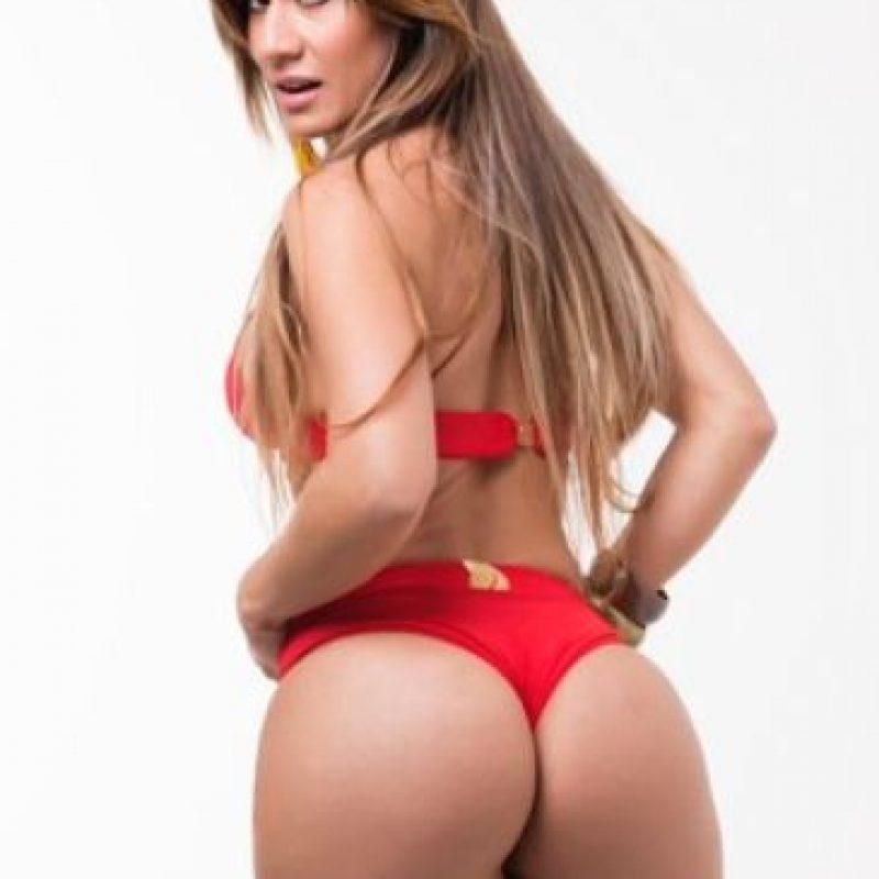 También fue eliminada por no cumplir con las normas del certamen Foto:Missbumbumbrasil.com.br