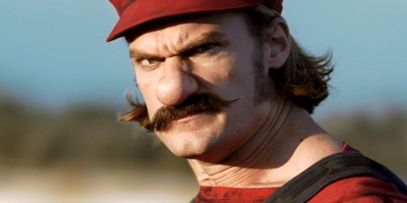 Así sería Mario en la vida real. Foto:Mercedes-BenzTV