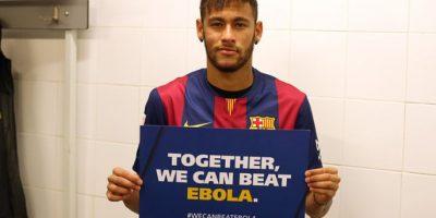 Neymar, futbolista brasileño del Barcelona. Foto:FC Barcelona