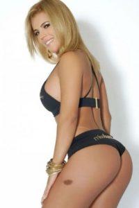 Ha posado desnuda para la revista Sexy Foto:Twitter: @BalonRosaSport