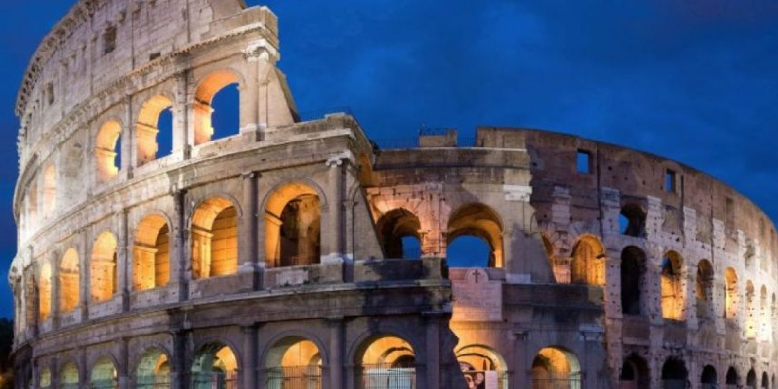 13. En el Coliseo de Roma. Foto:Getty Images