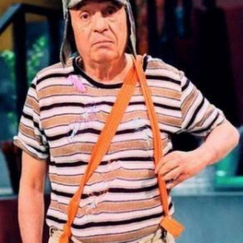 Roberto Gómez Bolaños mide 1.60 metros Foto:Getty Images